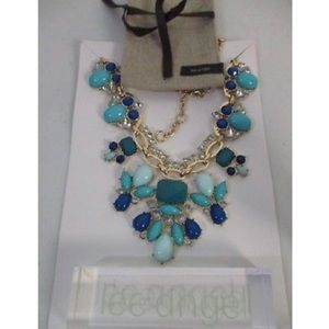 Lee by Lee Angel Capri BIB Statement Necklace NWT
